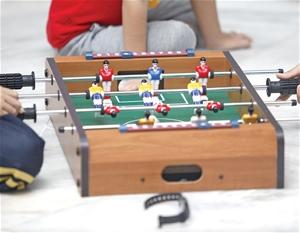 Foosball Games Soccer Table Kids Portabl