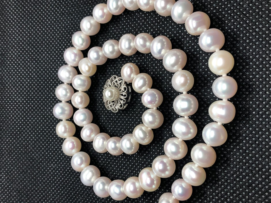 SimplySelena Freshwater Pearl Necklace