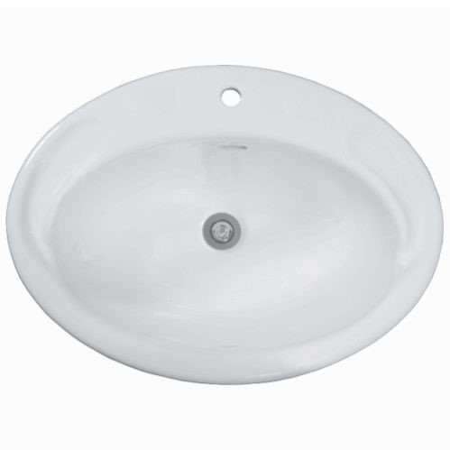 Cotto Jade Vanity Drop In Basin 560x415 1 Tap Hole NO P&W provided