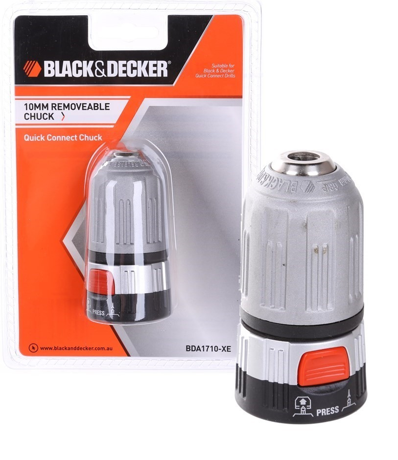 2 x BLACK & DECKER 10mm Quick Connect Clutches. Buyers Note - Discount Frei