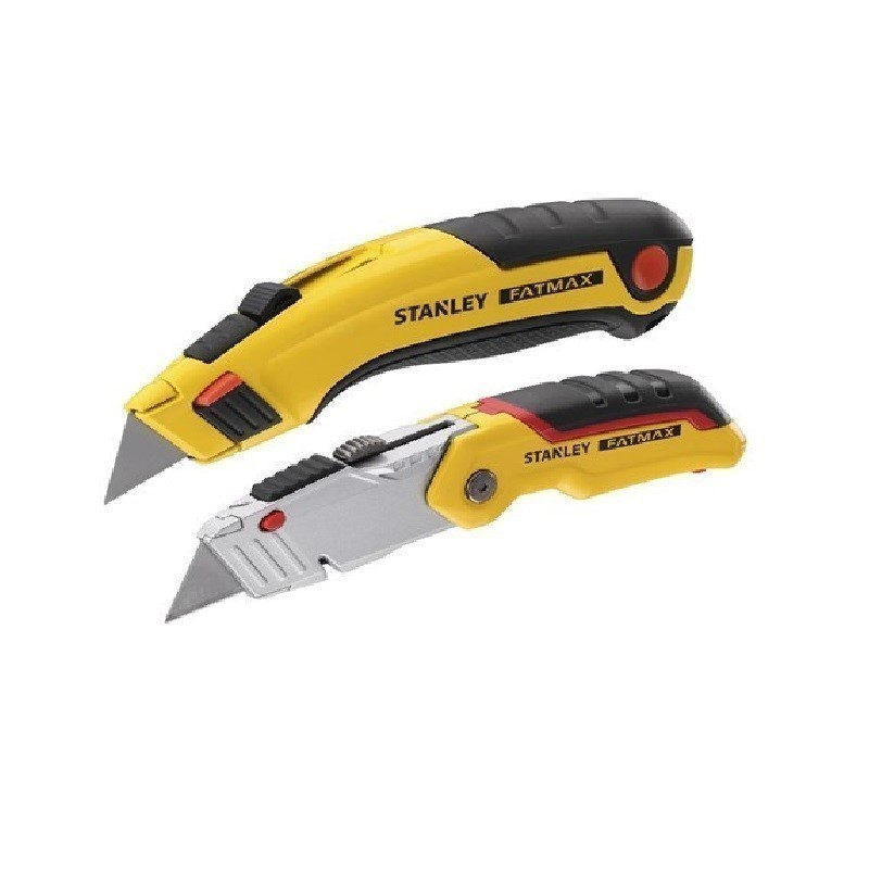 2 x STANLEY FatMax Twin Pack Retractable Knife Sets. You must be 18 year