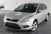 Unreserved 2009 Ford Focus TDCi LV Turbo Diesel Auto Hatch