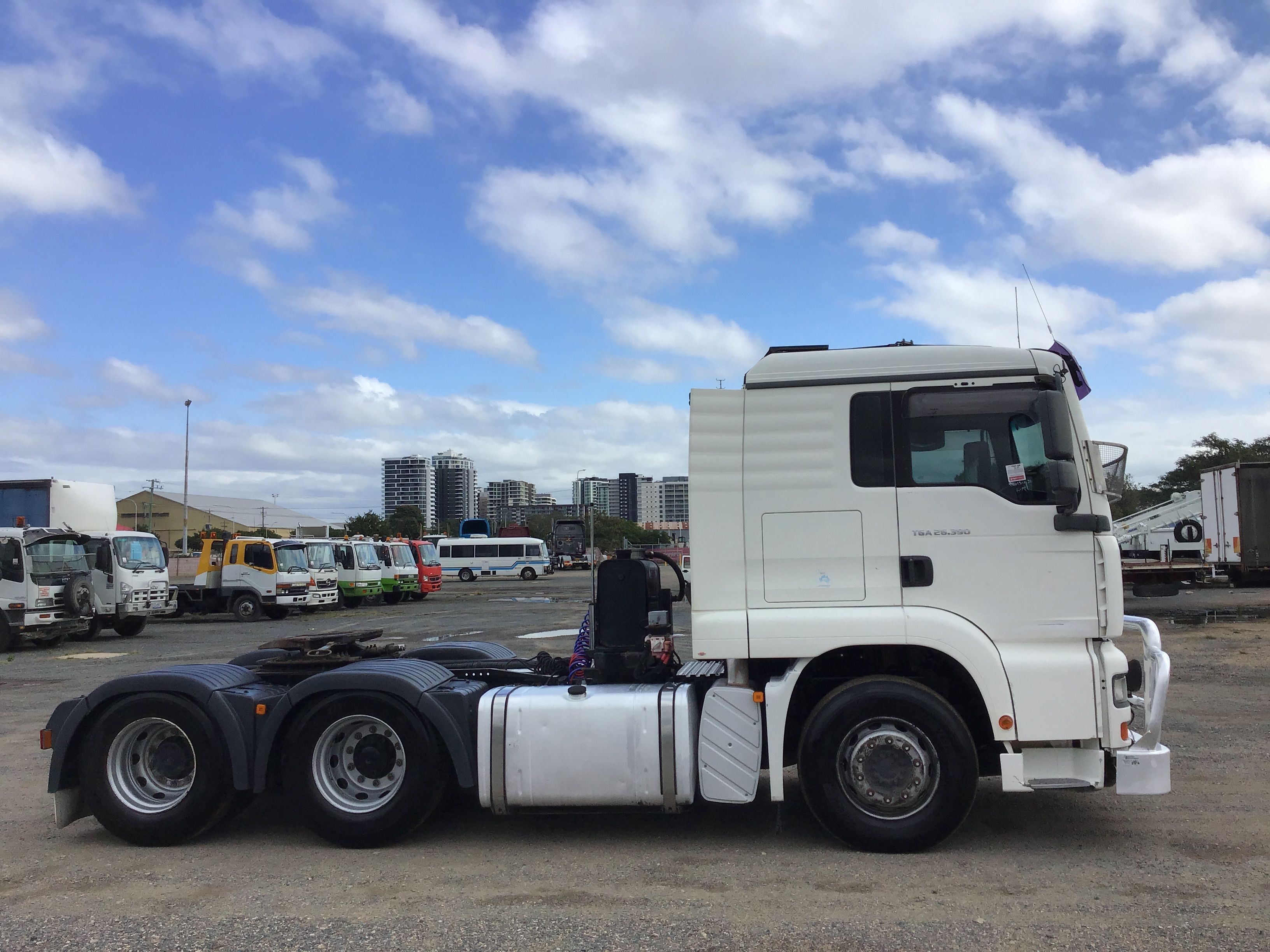 2007 M.A.N. TGA Hydraulics Auto (Ex Corp) 6 x 4 Prime Mover Truck