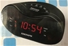 (4 Pack) Yokohama AM/FM Alarm Clock Radio (CR300YOK), Black