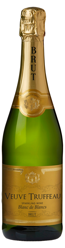 Veuve Truffeau Blanc de Blancs Brut NV (6 x 750mL) France