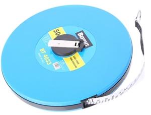 BERENT 50M Long Fibre Tape Measure, Metr