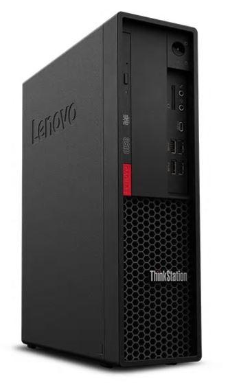 Lenovo ThinkStation P330 Small Form Factor (SFF) Desktop PC, Black