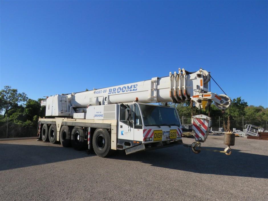 2001 Terex Demag AC 100-L Crane Truck