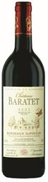Maison Riviere Chateau Baratet Dry Red 2014 (12 x 750mL) Bordeaux, France