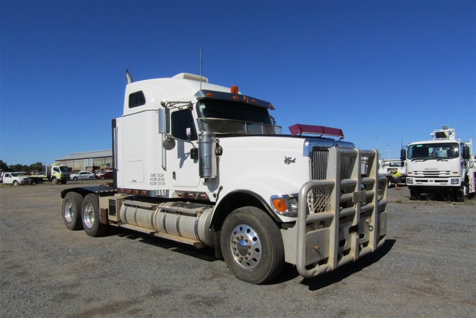 2010 International Eagle 6 x 4 Prime Mover Truck