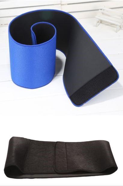 5 Packs Fitness Waist Trimmer - Adjustable Ab Sauna Belt-Blue