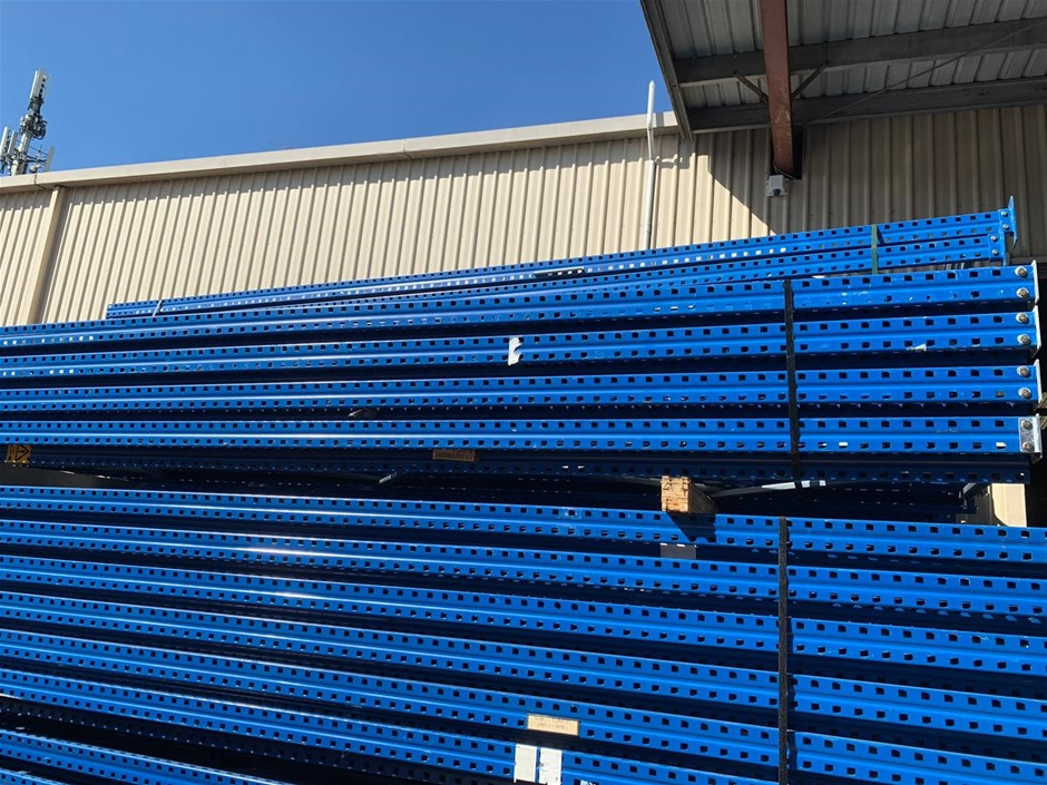 COLBY BRAND PRE-OWNED PALLET RACKING- 100 PALLET LOCATIONS
