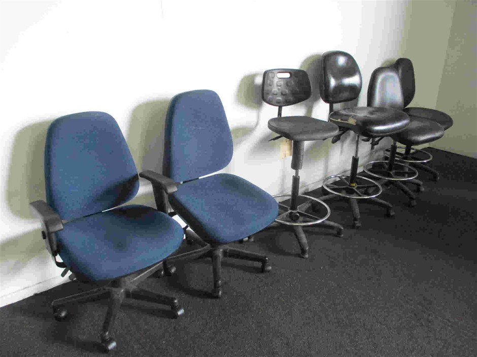 Qty 6 x Office Chairs
