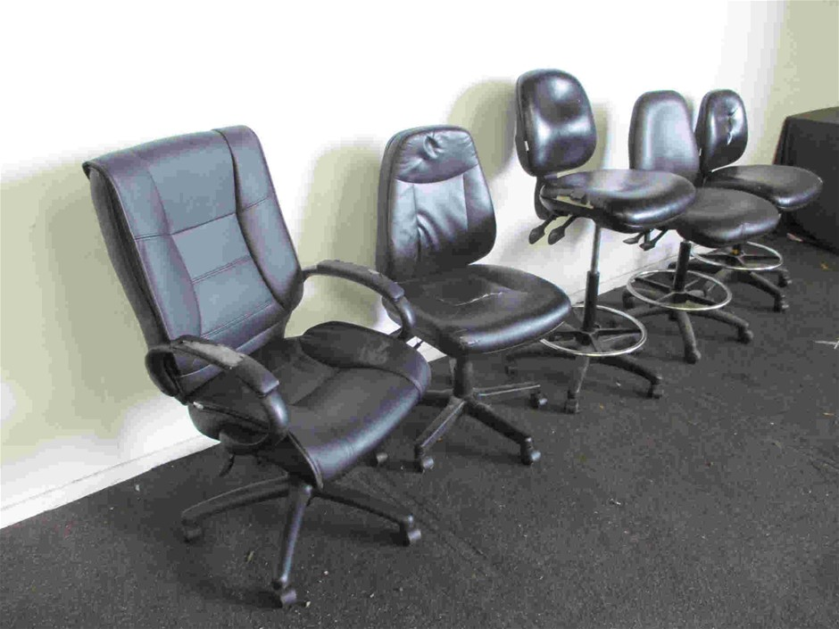 Qty 5 x Office Chairs