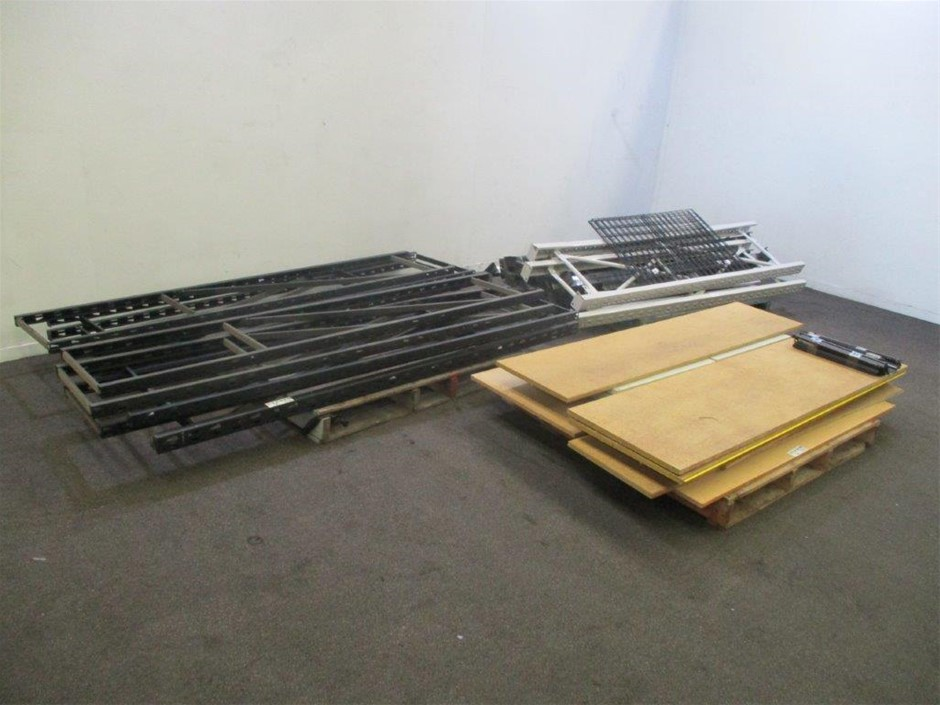 3 Pallets of Shelving/Racking Components