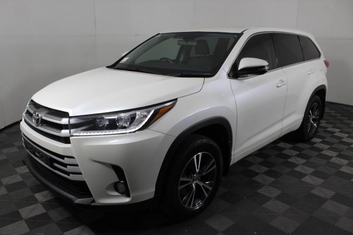 2017 Toyota Kluger 4X2 GX GSU50R Automatic - 8 Speed 7 Seats Wagon
