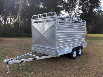 2020 Galvanised Dual Axle 12' x 6' Cattle Trailer