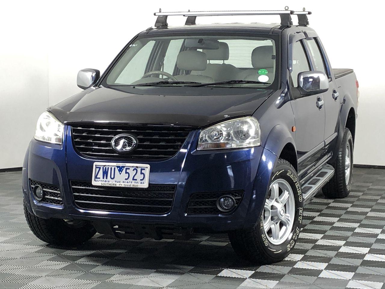 2012 Great Wall V200 4X4 Turbo Diesel Manual Dual Cab
