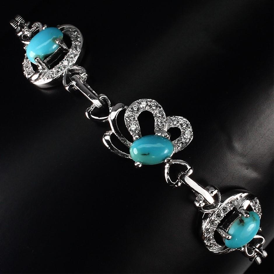 Cute Genuine Turquoise Bracelet.