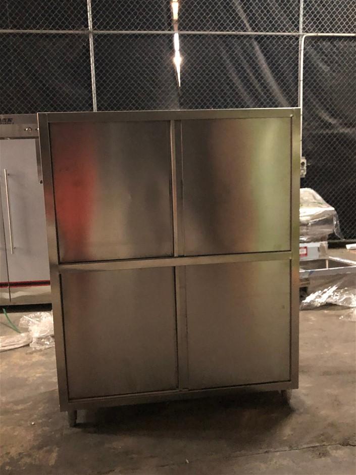 Unused Freestanding Storage Unit
