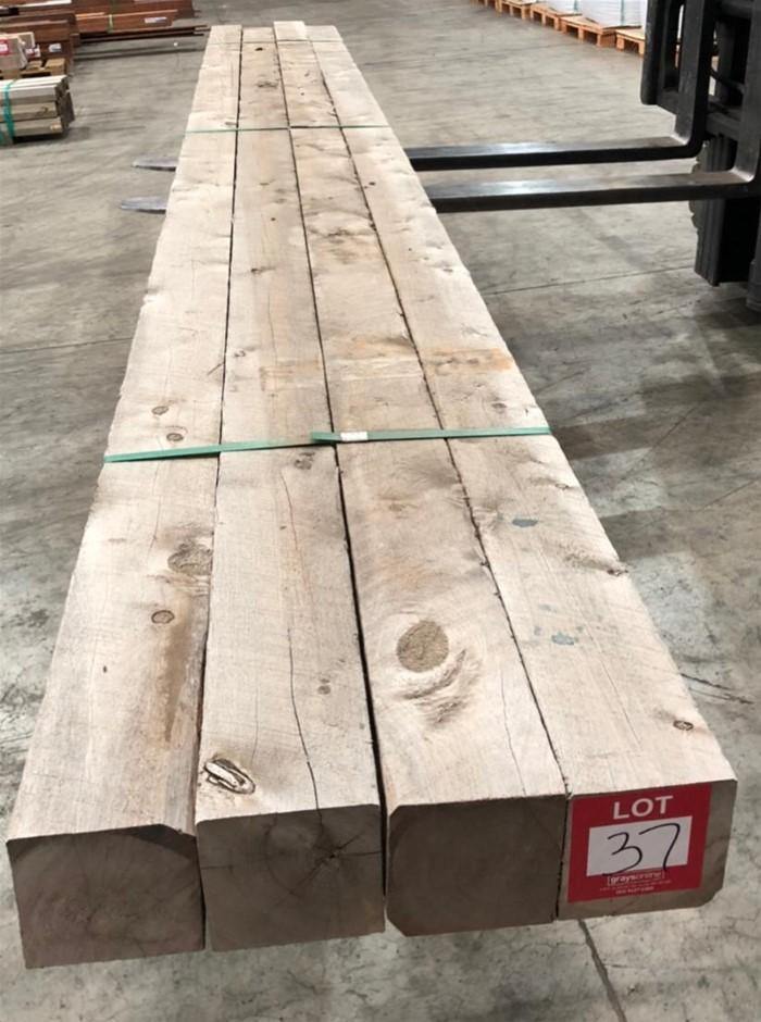 125 x 125 Cypress Sawn Post. Length 4pc/ 3.9