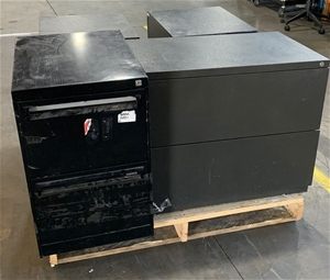 Qty 4 x Assorted Metal Cabinets