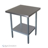 Unused 914mm x 760mm Stainless Steel Bench