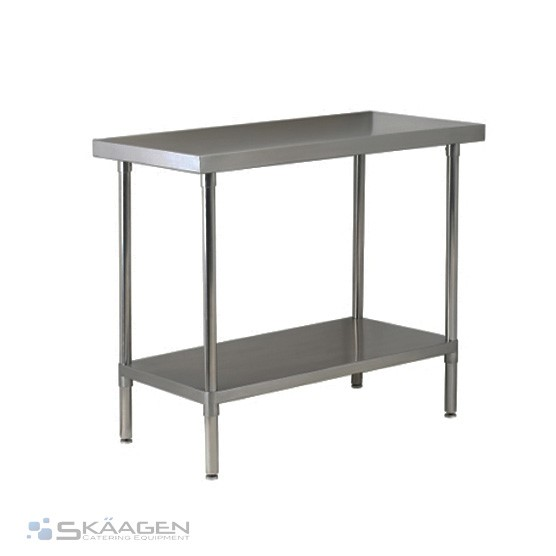 Unused 1220mm x 760mm Stainless Steel Bench