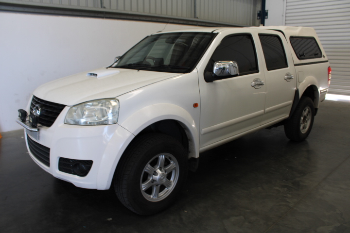 2011 Great Wall V240 Dual Cab, 131,437km