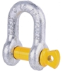 12 x Dee Shackles 10mm, WLL 1T, Grade S. Buyers Note - Discount Freight Rat