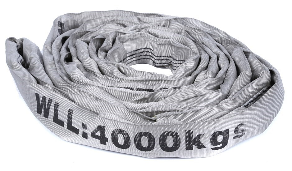 Round Lifting Sling, WLL 4000kg x 3M (With Test Cert). Buyers Note - Discou