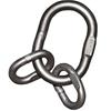 PEWAG Stainless Steel Master Link Grade 50, G316 WLL 5,000kg. Buyers Note -