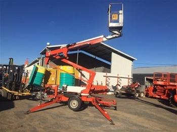 Trailer Mounted Boom Lift (Cherry Picker)