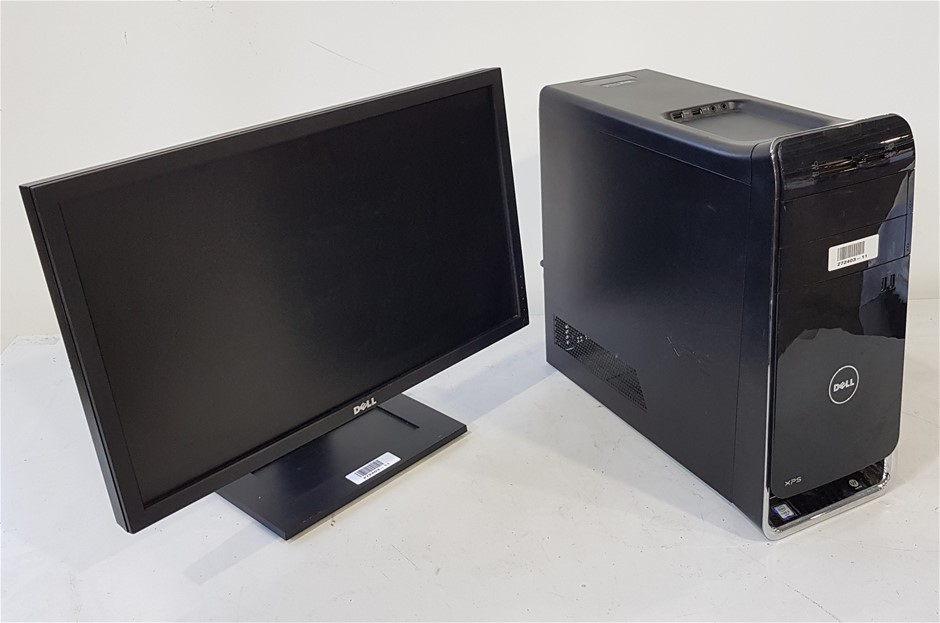 Dell XPS 8900 Series Mini Tower Desktop Pc With 23-Inch Dell Monitor