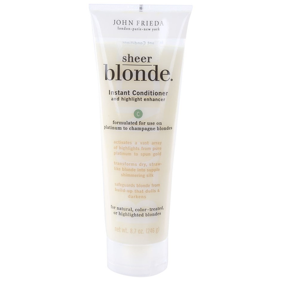6 x JOHN FRIEDA Sheer Blonde Instant Condition 246g. Formulated for use on