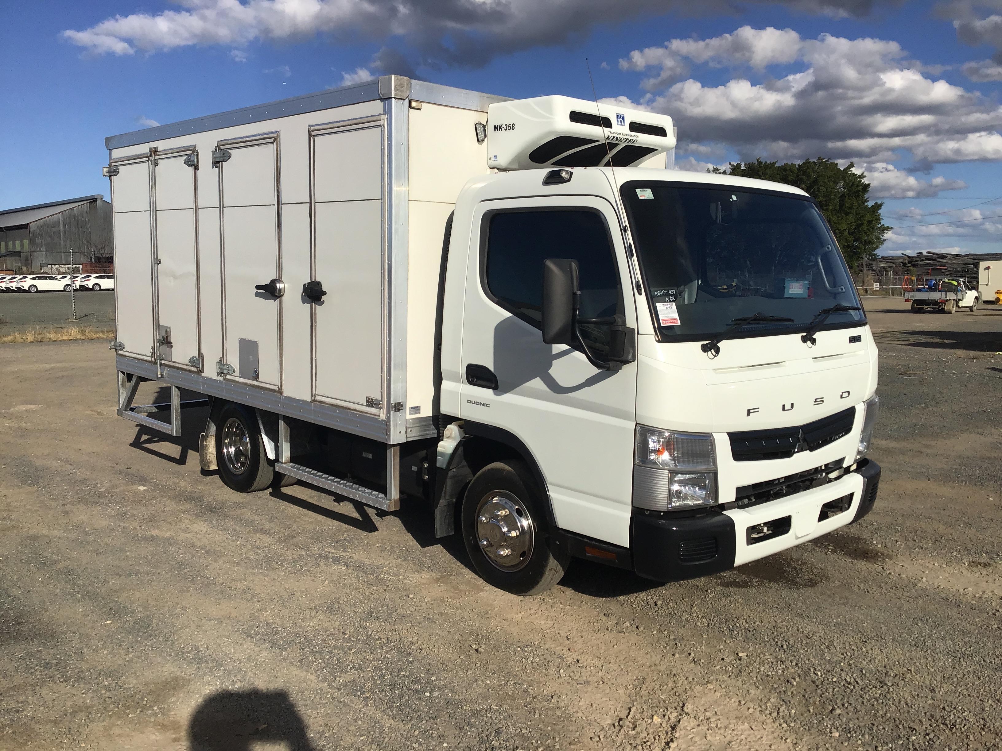 2013 Mitsubishi Fuso Canter 515 Auto Refrigerated Body Truck