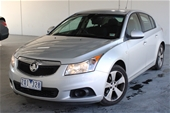 Unreserved  2013 Holden Cruze CD JH Manual