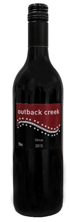 Outback Creek Shiraz 2015 (12 x 750mL) Hunter Valley, NSW
