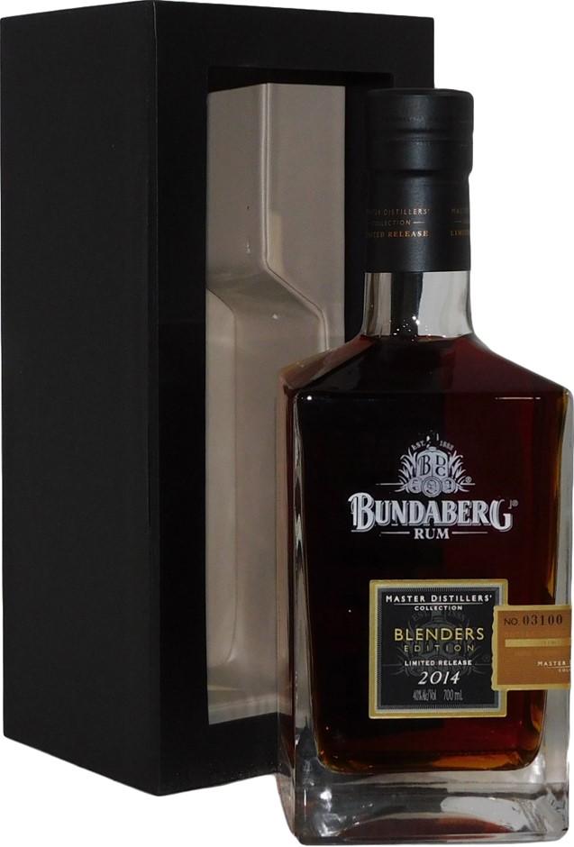 Bundaberg MDC Blenders Edition Ltd Rum 2014 (1x 700mL Bottle No. 03100) AUS
