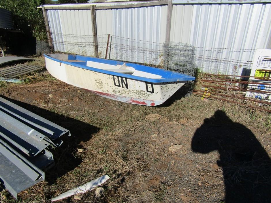 Fold up Fibreglass Boat