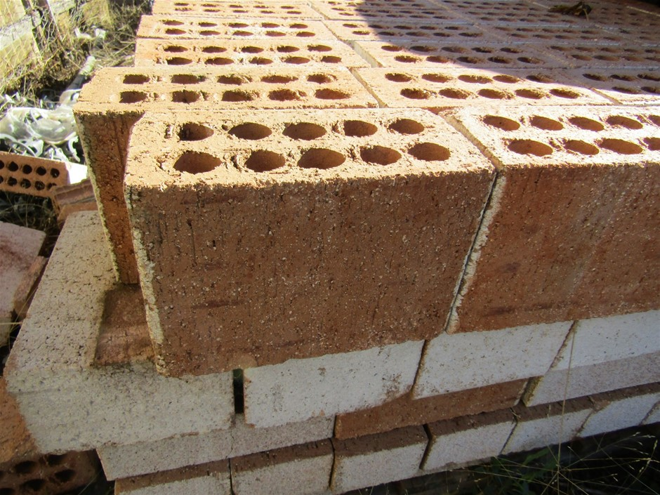 Mixed Pallet of Common Double Bricks and Common Bricks