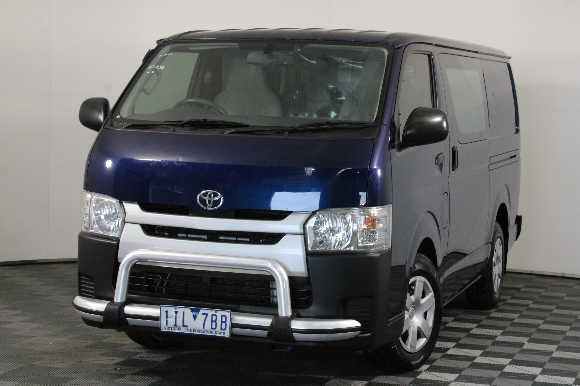 2016 Toyota Hiace LWB KDH201R Turbo Diesel Manual Van
