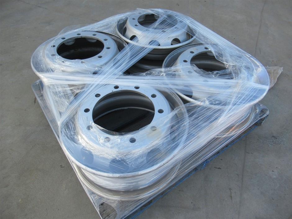 Qty 4 x Accuride Truck Rims