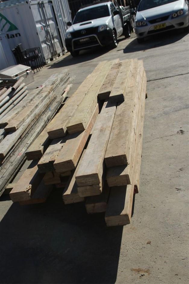 25x Assorted Building LVL Timber Beams