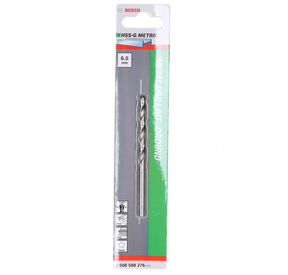 20 x BOSCH 6.5mm Metal Drill Bits. (SN:131756-K20) (272649-149)
