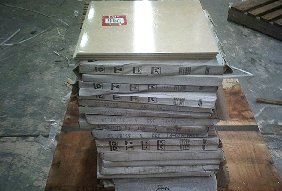Pallet of approximately 16 sq. metres of Johnson Tiles Grace Sand