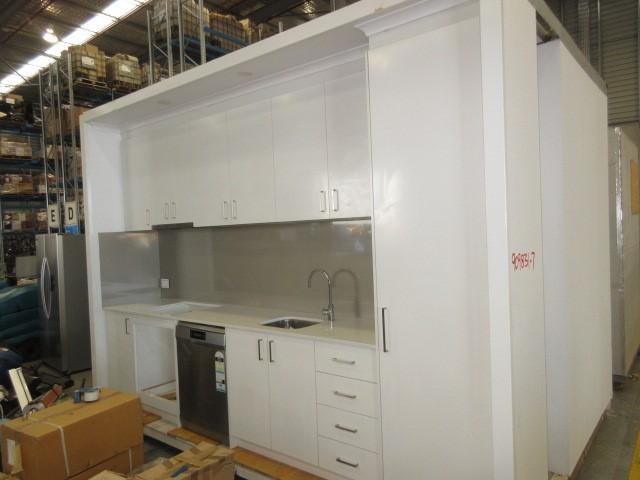 3.8m x 2.6m Incomplete Kitchen & Bathroom Module