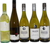 Mixed Pack of White Wine (5x 750mL), Mixed Region, Screwcap.
