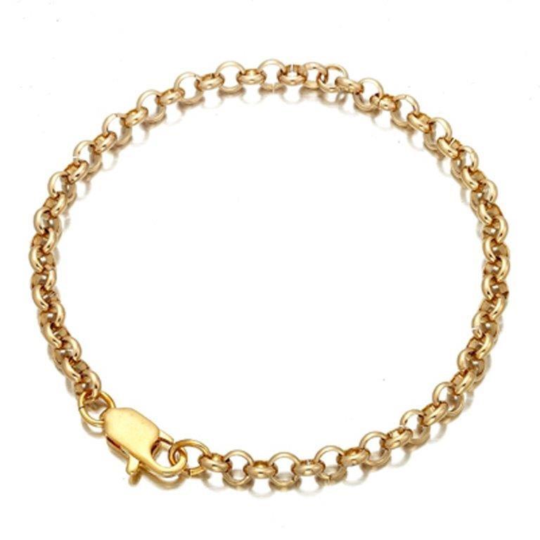 Ladies gold plated blecher bracelet