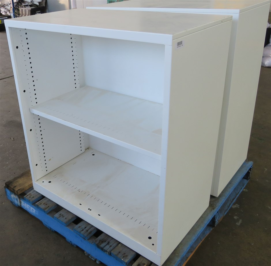 2x File Storage Cabinets (No Doors)